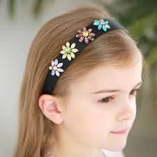 Hairband Hairstyle diamante hair band narrow 7573 by wearticles.com