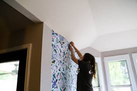 how to install anthropologie wallpaper
