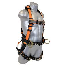 Fall Protection Harness Size Chart Warthog Maxx Belted Side D Ring Harness