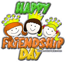 Image result for glitter...happy friendship day with codes
