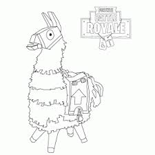 Fortnite Battle Royale Coloring Pages Leuk Voor Kids