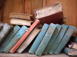 books old dusty library vine antique paper