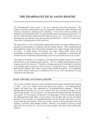 Pharmaceutical Sales Resume Templates – Poquet