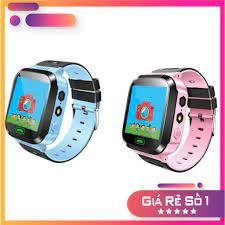 Siêu Hot]Đồng hồ thông minh màu hồng định vị trẻ em GPS – Smart Watch Q528  Tracker GPS112 - Đồng hồ thông minh