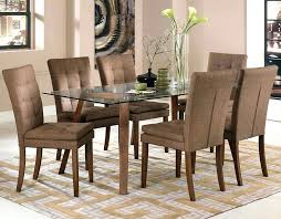 glass dining table chairs fabric dining room chairs round glass dining table white chairs