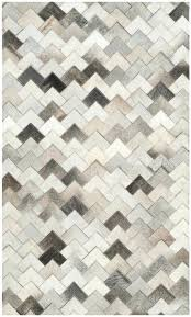 woven leather rug floor