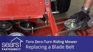 how to replace a toro zero turn riding mower blade belt how to replace a toro zero turn riding mower blade belt