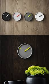 cool office clocks. source awesome minimal graphic clock design cool office clocks