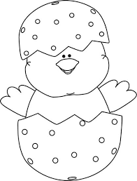 easter clipart to color. Unique Color Easter Clipart Black And White Picture For To Color H
