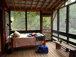 amazing interior sleeping bed couch on wooden floors as well wood benches and screen porch ideas for enclosed deck design plans screen porch interior ideas27 screen