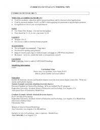 Sample Psychology Graduate Augustais