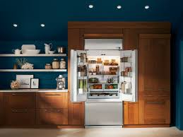 Kitchen Refrigerator Sizes Ideas Monogram Fd Doors Open Likable - Kitchen refrigerator