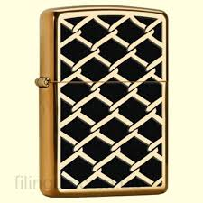 <b>Зажигалка Zippo</b> 28675 Chain Link <b>Fence Design</b> – купить в ...