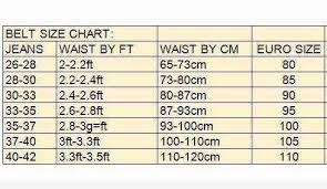 Belt Size 110 Chart Nina Belt Size Chart Album On Imgur