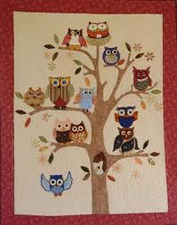 Life's a Hoot Quilt Pattern & Add a bit of whimsy to your home decor with this quilted wall hanging. Adamdwight.com