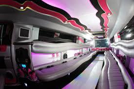 Rose Limosine 20 Pax Pink H2 Hummer Detroit Mi Satisfaction
