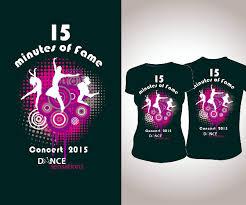 Dance Shirt Designs Colorful Playful T Shirt Design For Dance Sensations Kiama