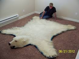 Faux Bearskin Rug Polar Bear Skin Rug For Sale Roselawnlutheran