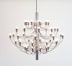 large chandelier 2097 50 by gino sarfatti for arteluce