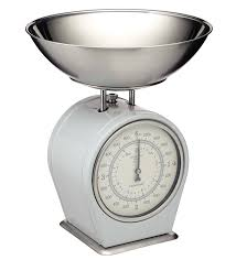 Small Kitchen Weighing Scales Premier Housewares Retro Style Kitchen Scale With Stainless Steel