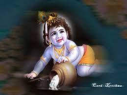 hindu god krishna wallpaper 3d