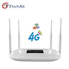 ΞTIANJIE Unlocked 300Mbps 4 external antennas home Wifi Router ...