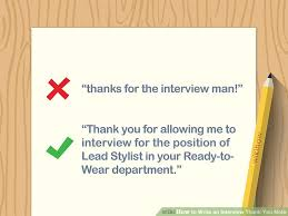 thank you after an interview how to write an interview thank you note with examples