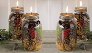 Decorated Jam Jars For Christmas Jam Jar Christmas Decorations Wwwindiepediaorg 78