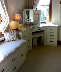 bedroom corner furniture. bedroom corner dressing table with sculptured door in ivory coordinated stool and mirror furniture m
