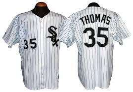Chicago Frank Sox Jersey Thomas White