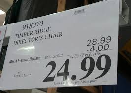 deal for timber ridge director s chair at costco