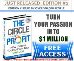 Circle Of Profit Edition 2 Million Dollar Business Secrets