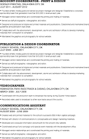 Sports Management Resume Samples