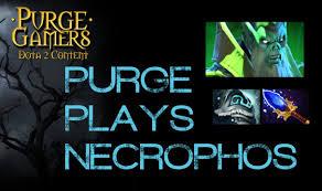 dota 2 purge plays necrophos mid youtube