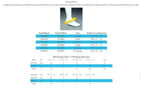 Trilok Ankle Brace Size Chart Aso Evo Ankle Brace Stabilizer