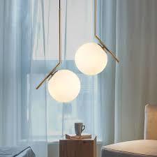 off modern white pendant lights globe