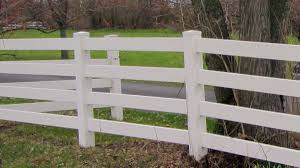 rail fence styles. Vinyl Fences Come In A Variety Of Styles And Colors Including This Classic Four Rail Fence