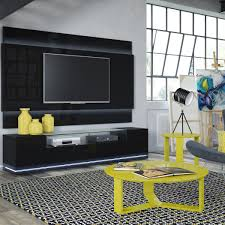 manhattan comfort 2 1755384053 vanderbilt tv stand and lincoln 2 2 floating wall tv panel