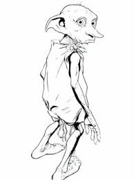 And also with his enemies, teachers and magical creatures. Kids N Fun Com 6 Coloring Pages Of Dobby Harry Potter