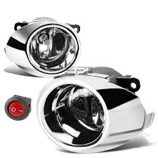 Fiesta Mk7 Fog Light Bulb For 09 12 Fiesta Mk7 Chrome Trim Clear Lens Bumper Fog Light Lamps Harness Kit