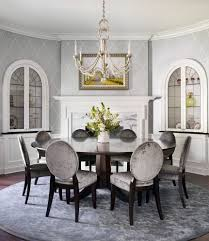 Standard Height Of Dining Room Table Ocean Themed Upholstered Chairs Dining Room Traditional With Round