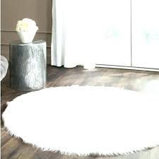 faux rugs trending faux fur rug white white faux sheepskin rug round real white faux sheepskin