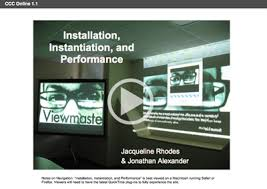 Installation, Instantiation, and Performance - Conference on College  Composition and Communication