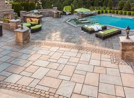 stone coatings pavers concrete patio