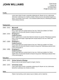 Free Blank Resume Templates Download Free Resume Templates To Print Printable Template Download And Blank