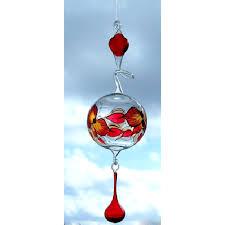 Dekokugel Fensterdeko Aus Lauschaer Glas