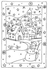 Small Picture Free Winter Coloring Pages To Print Archives New Snow Coloring