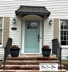 awning ideas for front door front door awning pictures over back door hmm son could you