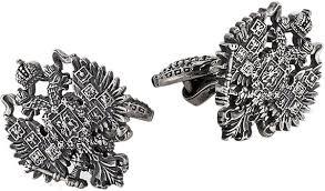 Серебряные <b>запонки KU&KU 1543750-7-1</b> — купить в интернет ...