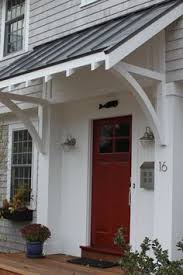 front door awningsBuiliding a Portico  New Look for My Home  Pinterest  Porticos
